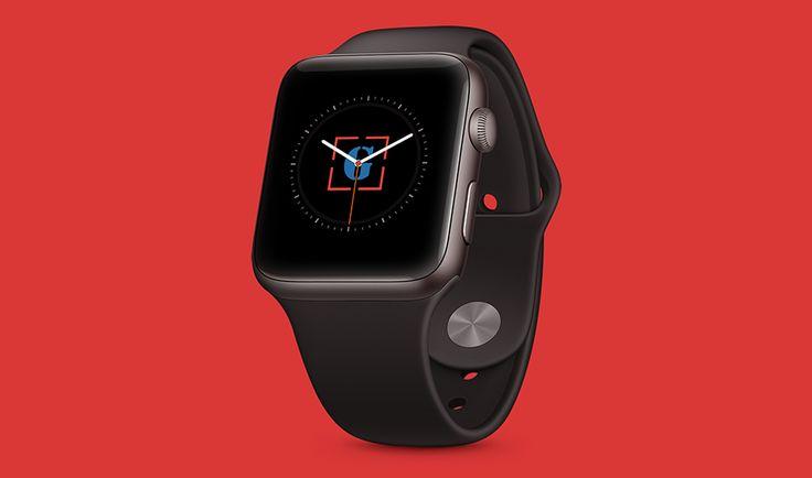 Apple Watch Sport Black PSD #Mockup FREE | graphicarmy.xyz