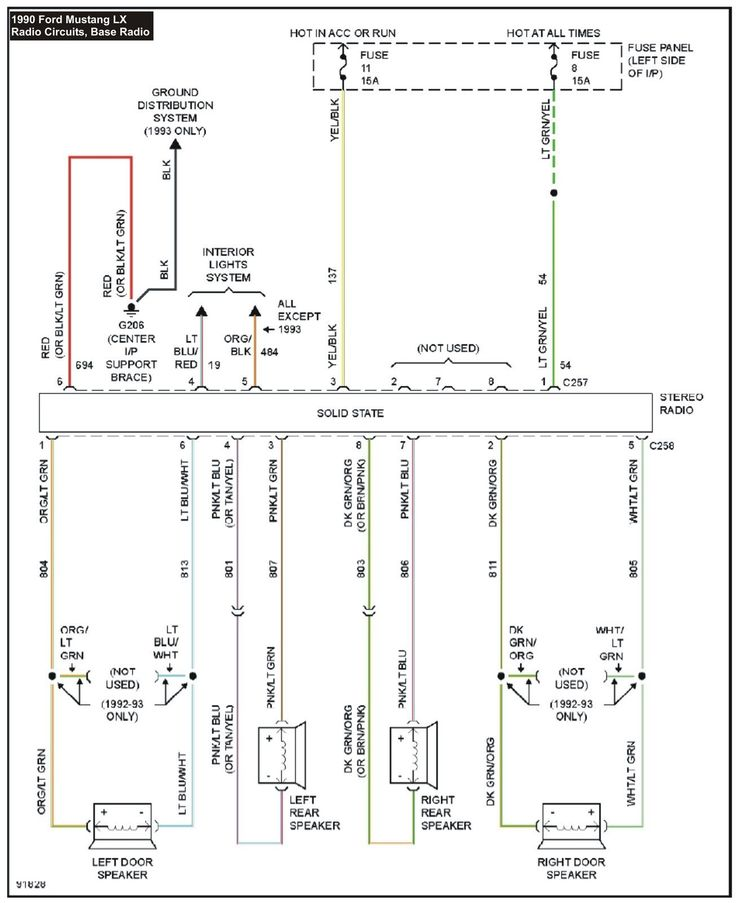 Unique Wiring Diagram Car Radio Pioneer  Diagramsample