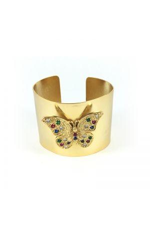 Brazalete Mariposa multicolor
