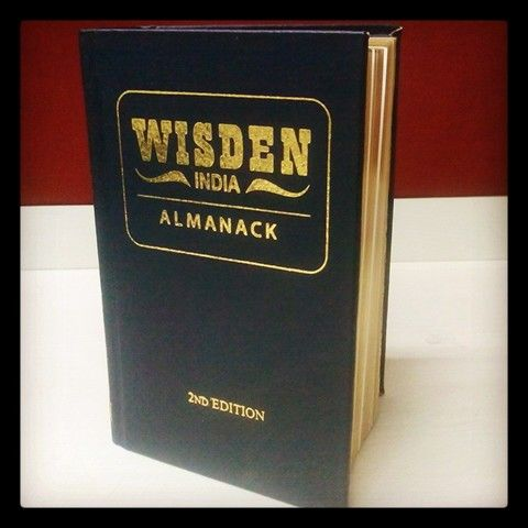 The leather bound limited edition Wisden India Almanack 2014 is up for grabs! Get yours today!