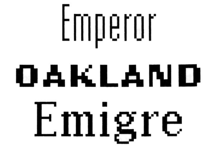 zuzana licko typography - Google Search