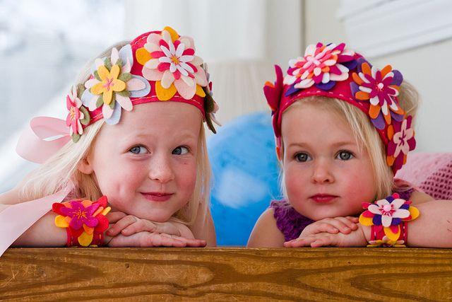 Meisjes kroon: Crafty Stuff, Crafts Ideas, Cute Ideas, Flowers Crowns, Adorable Crowns, Crafty Crafty, Baby Girls, Spring Crafts, Felt Flowers