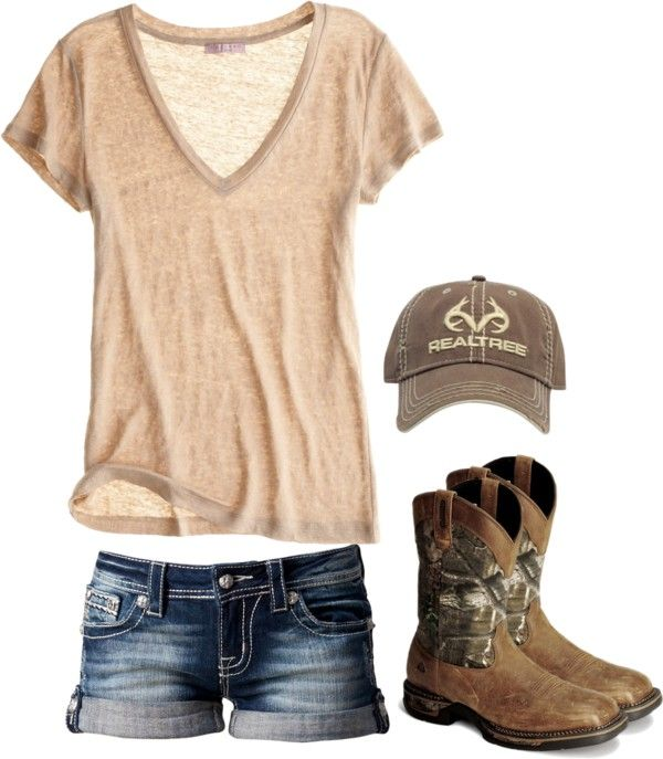 """Fishing"" by redneckprincess26 ❤ liked on Polyvore"