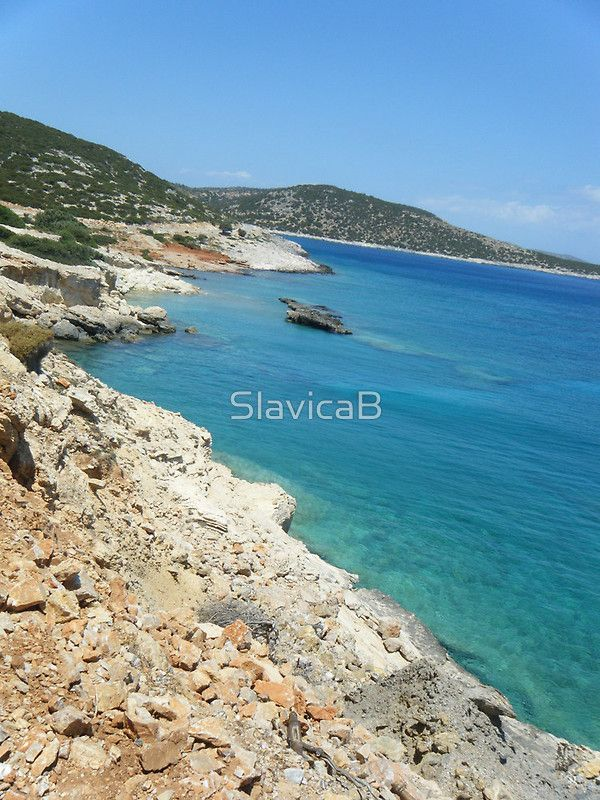 Lipsi Island Greece - Beach