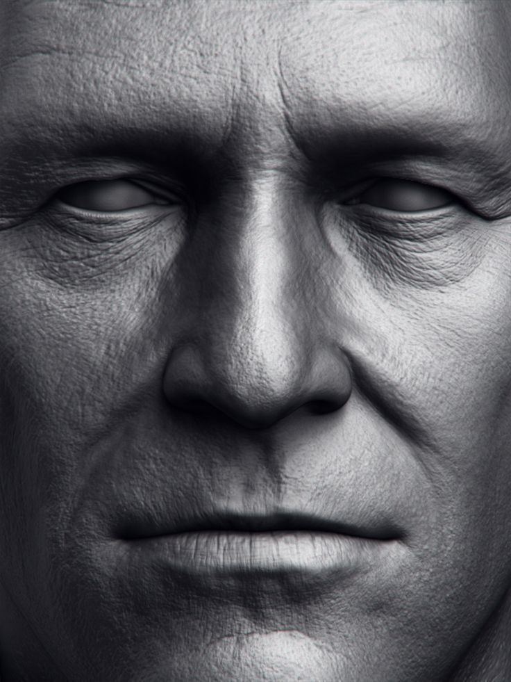 Jeff Bridges by Amin Yavari Moghadam | Portrait | 3D | CGSociety