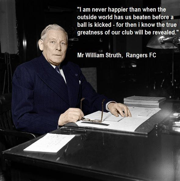 The great Bill Struth.