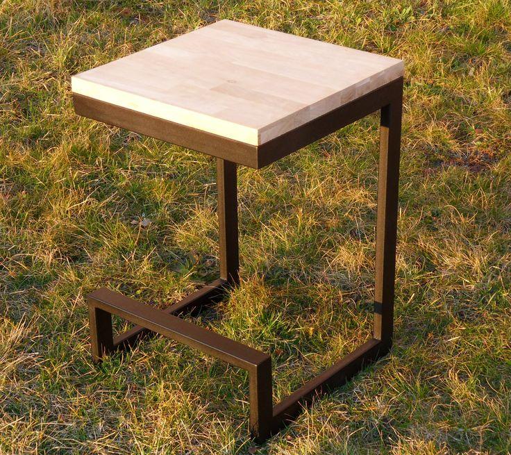 metal & wood coffe table jcw.com.pl