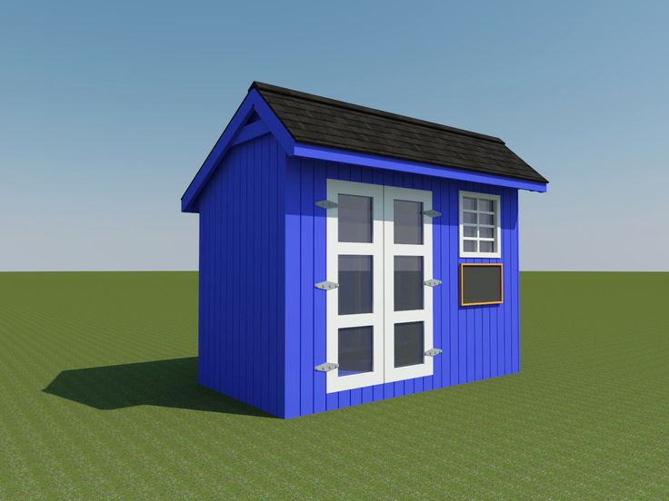 Build your own shed or playhouse for the kids diy plans fun to build