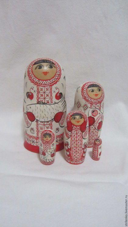 Матрёшка-пятиместная в интернет-магазине на Ярмарке Мастеров. Матрёшка-символ материнства и плодородия. Авторская матрёшка хороший подарок коллекционеру. Матрёшка-традиционный русский сувенир. Матрёшка-это развивающая игрушка для дет…