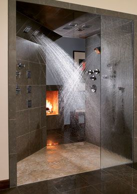 Dream shower for my dream house!