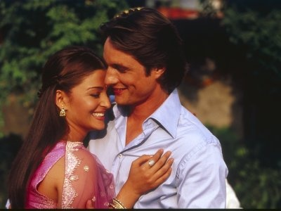 Bride & Prejudice (2004) Aishwarya Rai as Lalita Bakshi and Martin Henderson as William Darcy