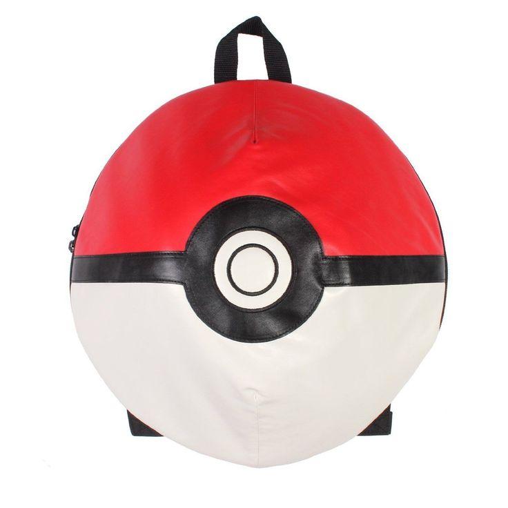 """Pokemon Poke Ball 3D Backpack 16"""""""