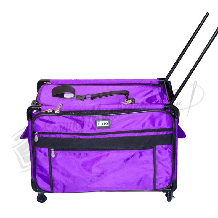 Tutto X-Large Machine on Wheels Case (2000-Purple)