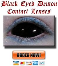 Black Eye Demon Contacts