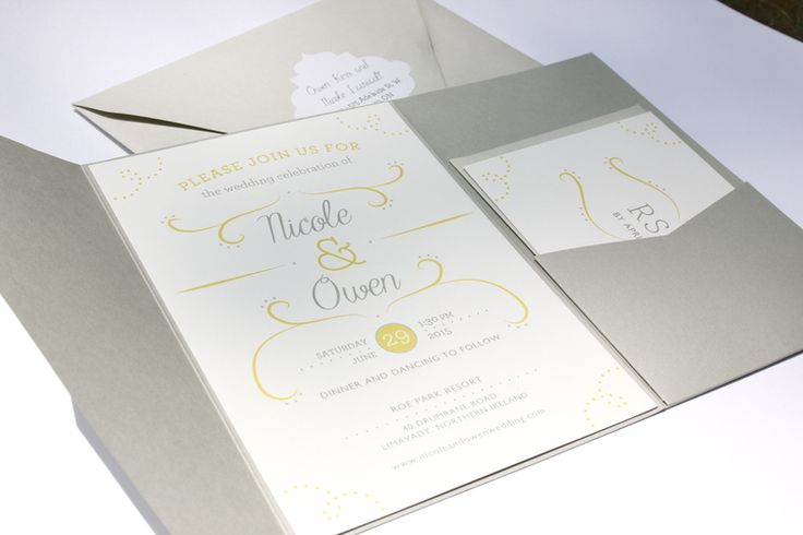 custom wedding stationary - caitlyn ryall