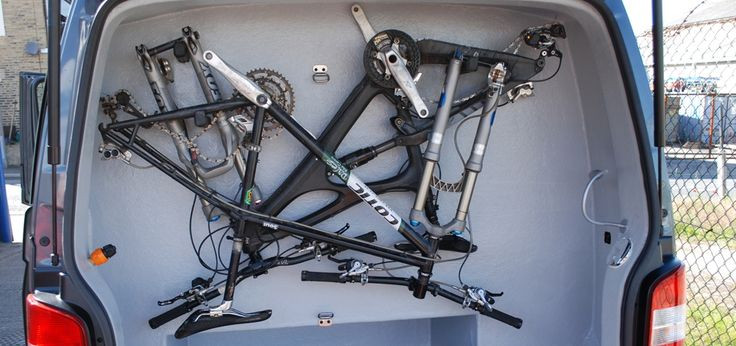 Storing Bikes On Boats: 28 Best Bicycle Mounts In Campervan Conversions Images On