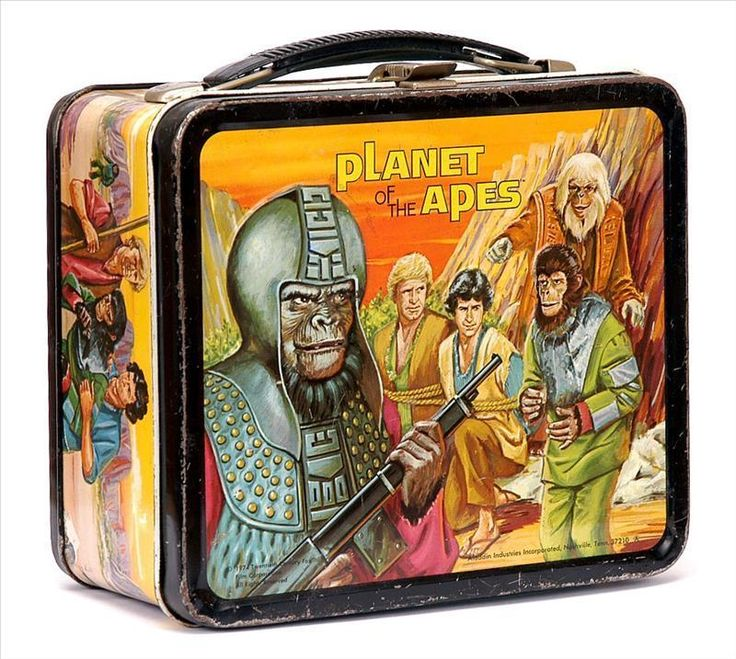 Apes-Vintage-1974-Lunch-Box-lunch-boxes - Was my favorite lunch box
