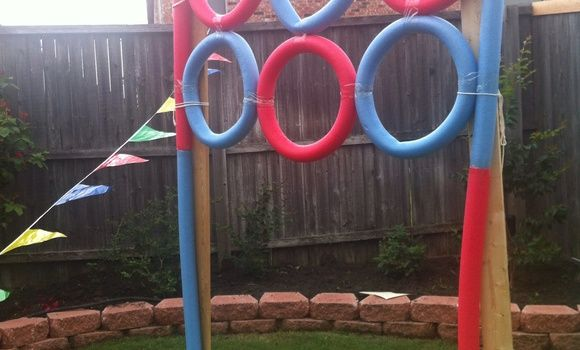 make a javelin throw carnival game