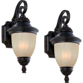 Laurel Designs Outdoor Wall Light Fixture Dark Bronze Coach Lamp 2-pack Antique Marbled Glass Dark Coffee Finish, http://www.amazon.com/dp/B008MIE7KG/ref=cm_sw_r_pi_awdm_5eqdub1RT6MXJ