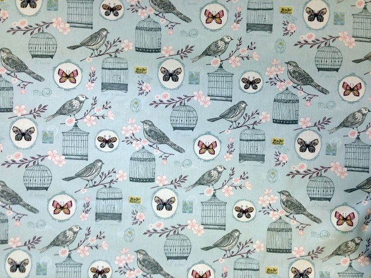 Clarke And Clarke Melodie Duck Egg   Textile Express   Buy Fabric