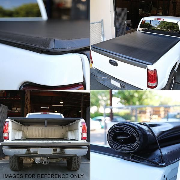 05 15 Toyota Tacoma Fleetside 6 Ft Truck Bed Soft Roll Up Tonneau Cove Ca Auto Parts Tonneau Cover Truck Bed Weather Seal