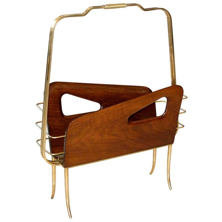 1stdibs | Magazine Holder In The Style Of Gio Ponti