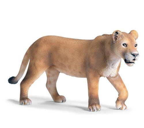 Toys R Us Lion Toys : Lioness walking by schleich while the males have