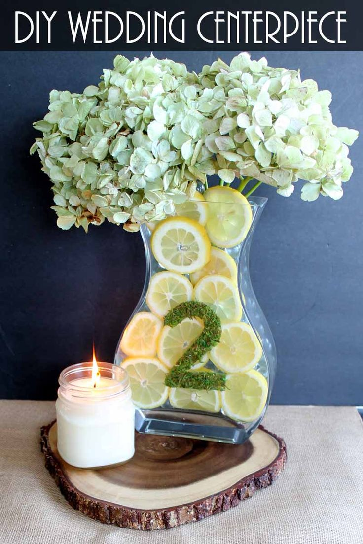 simple wedding centerpieces with lemons simple wedding centerpiecescenterpiece ideasdiy