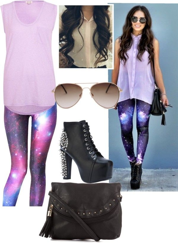 """Galaxy Outfit"" by ris123457-1 ❤ liked on Polyvore"