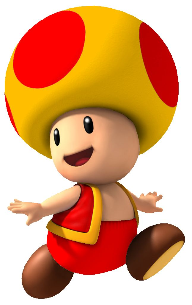 Image - Fire Yellow Toad NSMBW.png - Fantendo, the Nintendo Fanon ...
