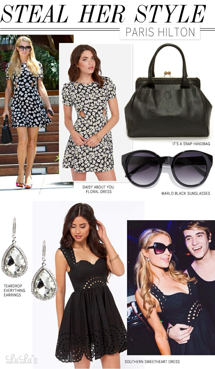 Steal Her Style: Paris Hilton