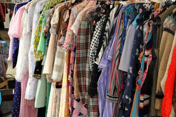 'Thank Vintage it's Friday' Vintage Fayre organised by Hay Does Vintage in Hay-on-Wye