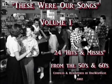 These Were Our Songs -  Volume 1 (Original Compilation)