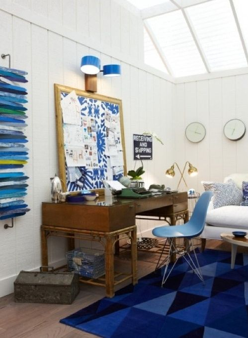 23 Beach-Inspired Home Office Designs | DigsDigs