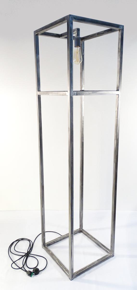 Produkty Podobne Do Floor Lamp Tower R Metal Floor Lamp Industrial Loft Floor Lamp W Etsy Metal Floor Lamps Floor Lamp Industrial Floor Lamps