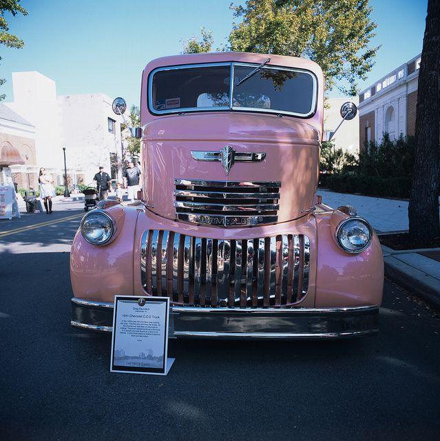 1941 Chevrolet C.O.E Truck by drfilm, via Flickr