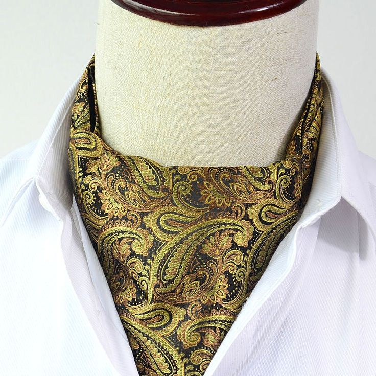 >> Click to Buy << Man Vintage Tie for Mens Cravat Ascot 2017 New Fashion Woven Groomsmen Wedding Cravats Ascots  Blue Gold Red Paisley Neckties #Affiliate
