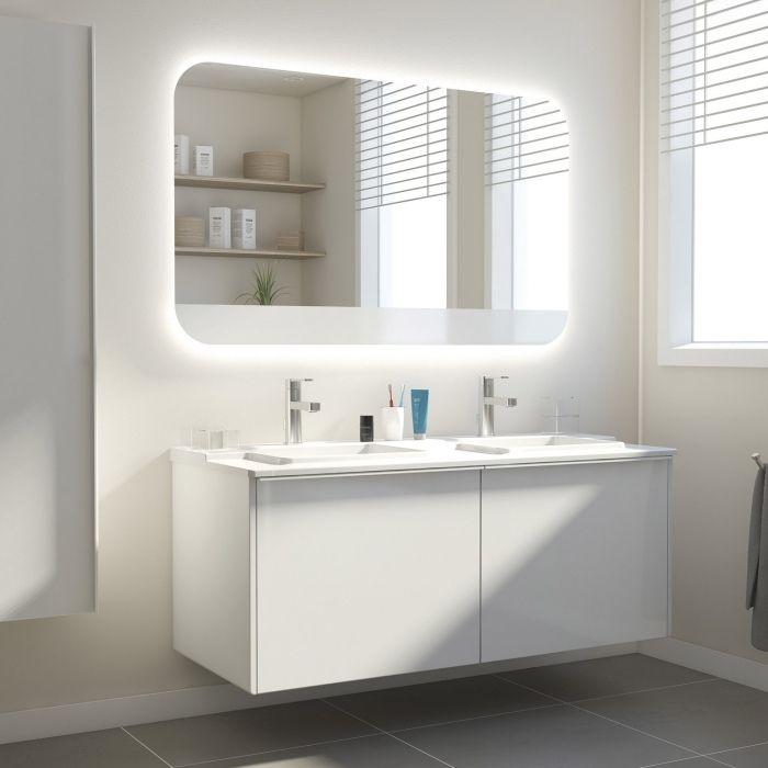 Awesome Um die richtige Badezimmer Beleuchtung zu w hlen sind einige einfache Tipps zu beachten vor allem wenn Sie m chten dass Ihr Licht die Aufmerksamkeit