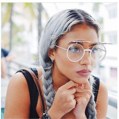 love this grey hair x