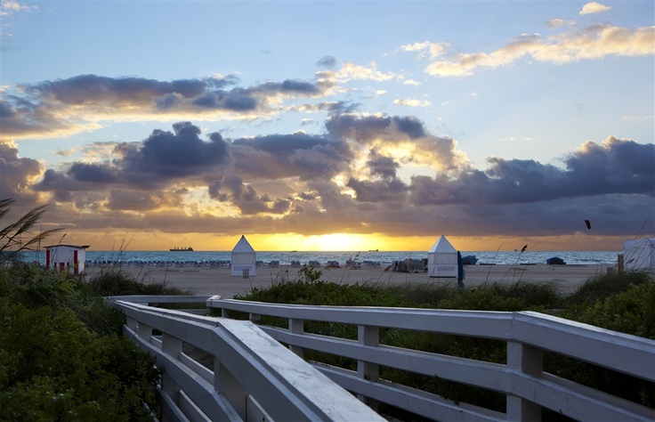 the bridge to romance ... from the richmond: Beaches, Miami Beach, Bridge, Romance, South Beach