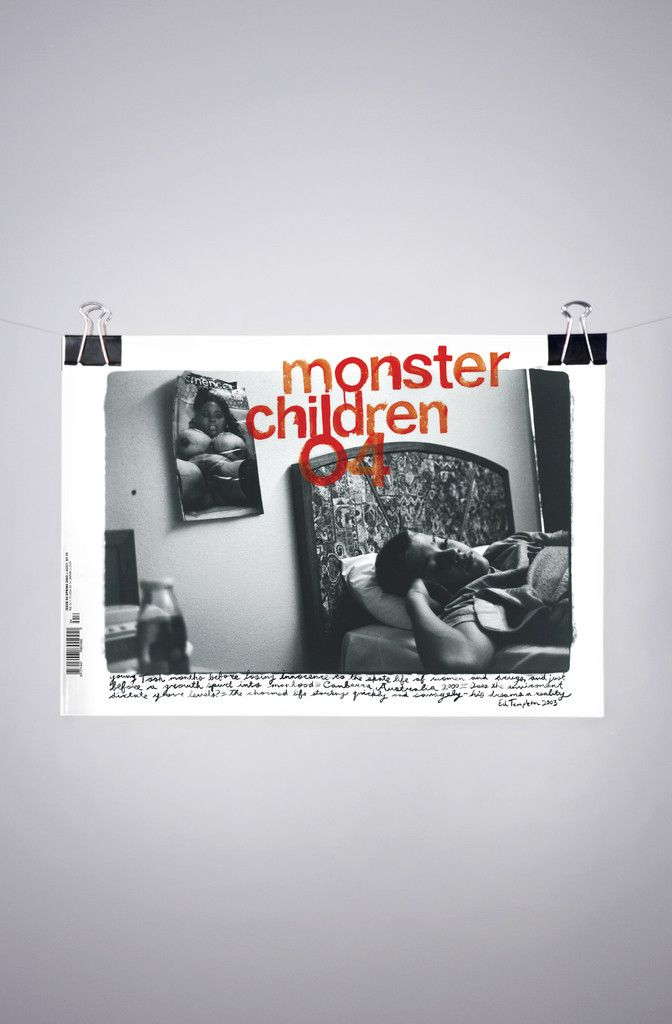 Monster Children Issue 04. Ed Templeton. Cover design, editorial, layout, typography and print from #monsterchildren