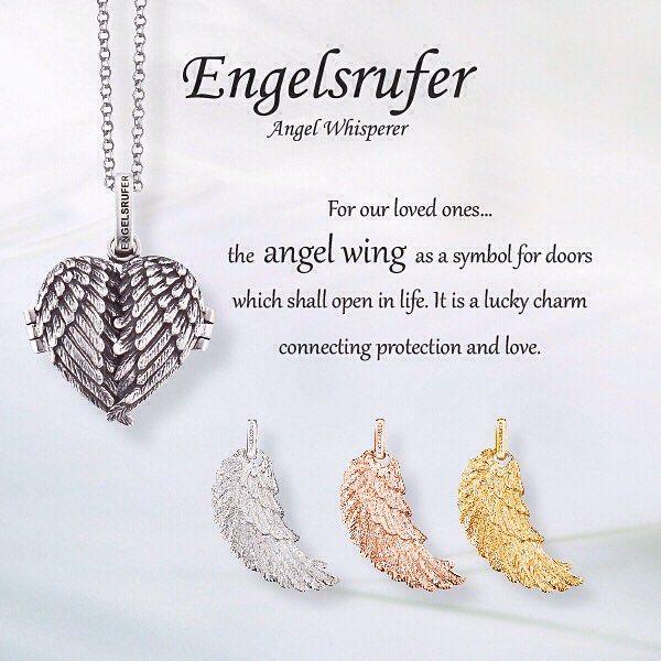 Calling an Angel! #Engelsrufer #AngelWhisperer #Jewellery #Angel #Whisperer #Wings #SilverJewellery - Shop now for engelsrufer_uk_ireland > http://ift.tt/1Ja6lvu