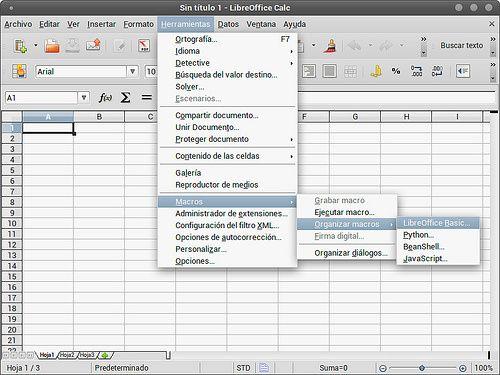 Función para convertir de número a cantidad con letra en LibreOffice Calc