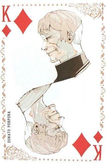 Donato Porpora ~ King of Diamonds ~ Tokyo Ghoul trump cards