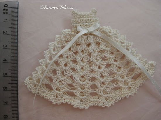 crochet baby dress for baptism