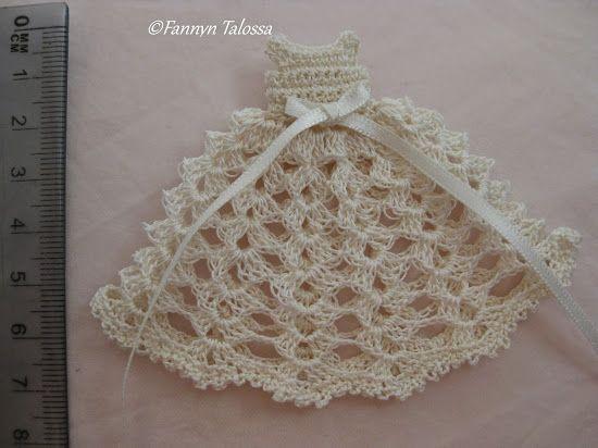 crochet baby dress for baptism
