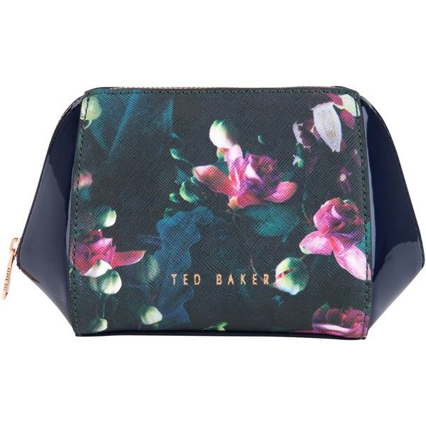 Ted Baker Aslyn Make-Up Bag, Dark Blue found on Polyvore