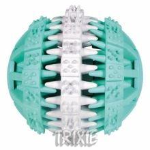 DentaFun míč s mátou zeleno/bílý 6 cm Trixie