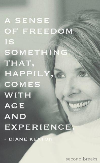 What Diane Keaton said...