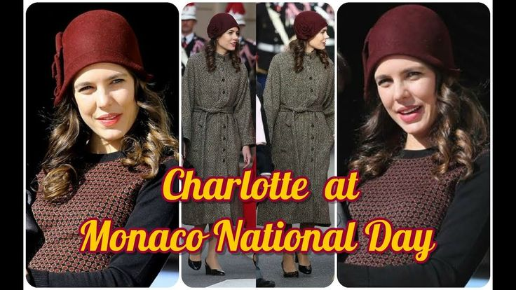 CHARLOTTE CASIRAGHI in a RETRO' LOOK Attend MONACO NATIONAL DAY 2017 at ...